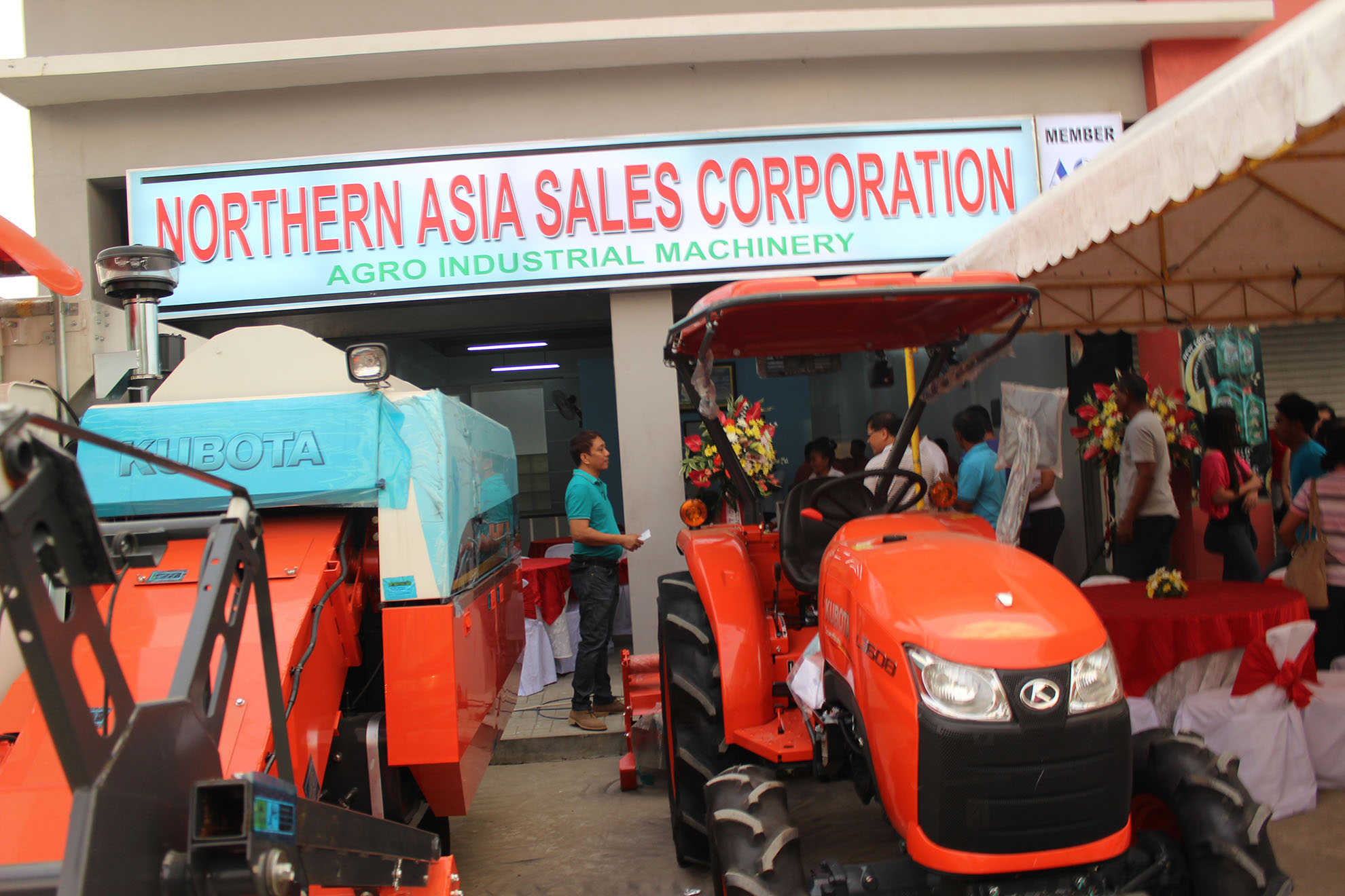Opening of VIGAN Branch (Northern Asia Sales Corporation)